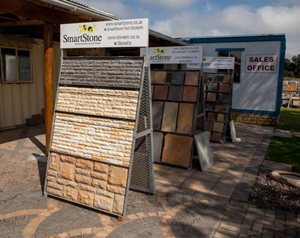 Smartstone and Stone Etc supply stone cladding and garden products in Prt Elizabeth and South Africa